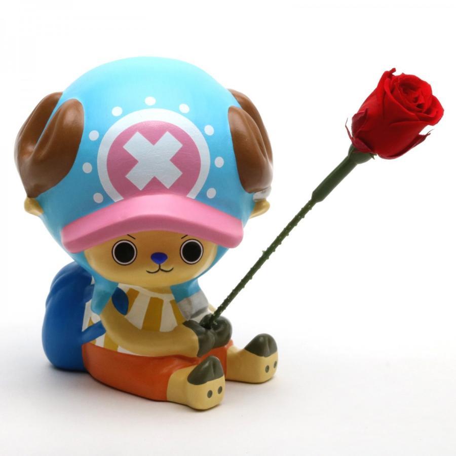 Tonytony.Chopper Flower Vase - 瀬戸焼の花瓶&会津桐の桐箱 プリザーブドフラワーとメッセージカード付き♪ nagato 02