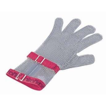 ニロフレックス メッシュ手袋5本指 S C−S5白 ショートカフ付