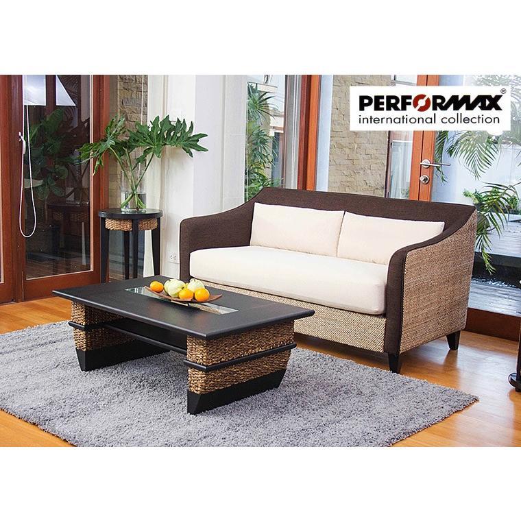 ウォーターヒヤシンスソファ 2P アジアンソファー アジアンソファー PERFORMAX 在庫販売品