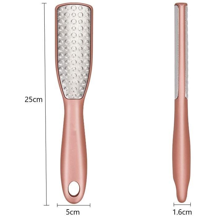 かかと 角質除去 ケア 両面 ひび割れ 足 足裏 ポロポロ 垢 皮 つるりん 削る フットケア 角質リムーバー 魚の目削り かかと削り 角質やすり|nagomi-company|05