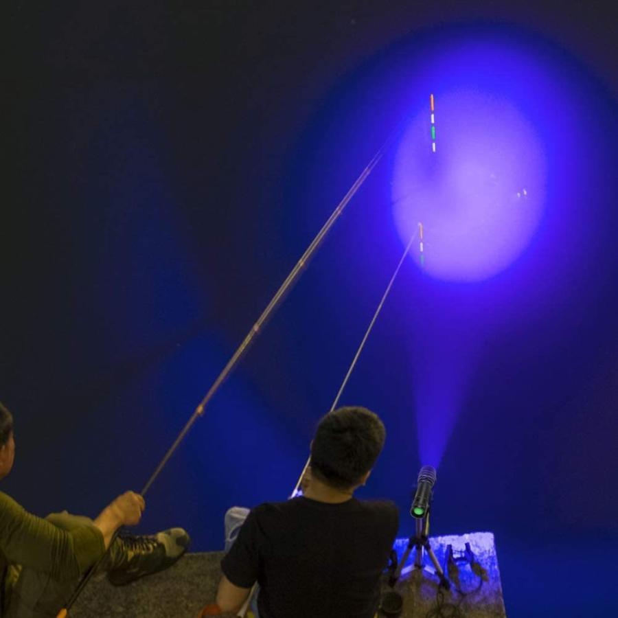 LED UVブラックライト 紫外線ライト 365nm 395nm レジン 硬化 ルアー 汚れ発見 蛍光ペイントの発光 真贋調査|nagomi-company|08