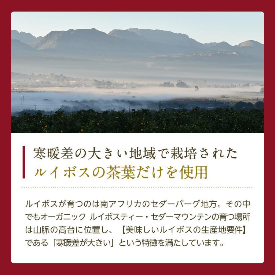 オーガニック ルイボスティー セダーマウンテン ティーバッグ 100包 【送料無料】|nagomisabo|09