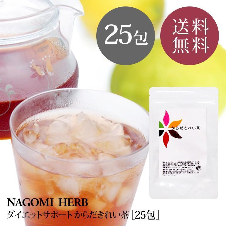 ダイエットサポートティー からだきれい茶 3g×25包 送料無料 ダイエット 健康 デトックス 健康 女性 男性 nagomisabo