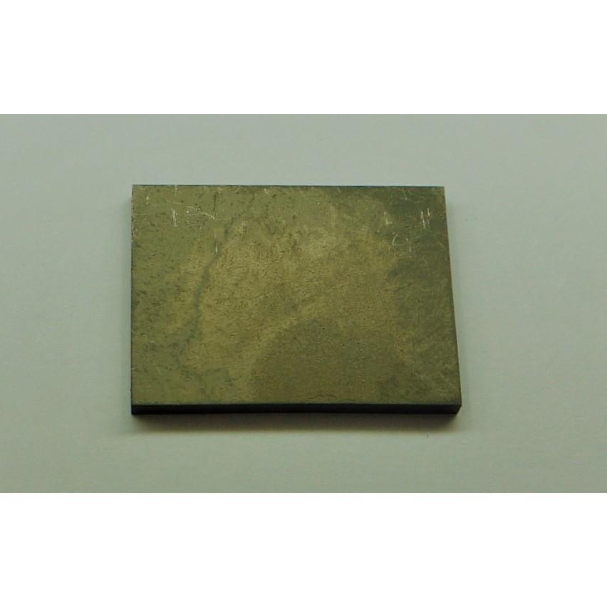 ワイヤーカット用超硬素材 VM30相当 HIP処理品 3X100X100mm (厚みは0.8〜1.5mmの研磨しろが付きます)|nagonozakka