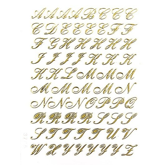 筆記 体 アルファベット