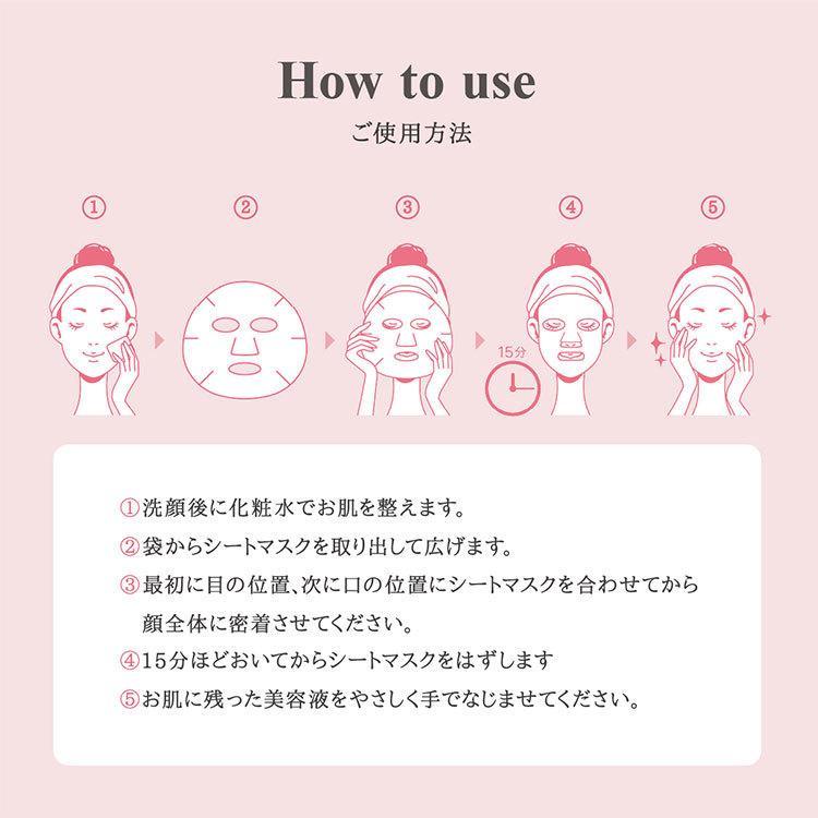 MISAKO AOKI 青木美沙子 フェイスパック LOLITA FACIAL SHEET MASK 10枚入り BOX シートマスク アートマスク 日本製(SSPI) cp1000【SIB】 nailcol 10