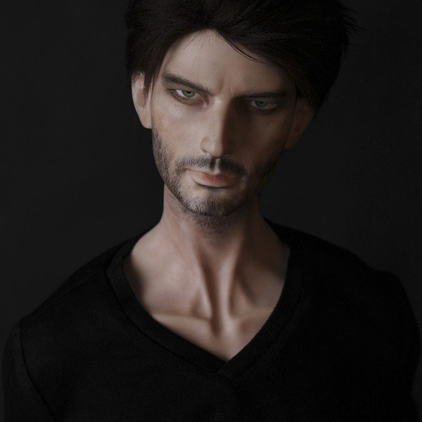 SD人形 ルシファー 80cm 3点 男性人形 make up