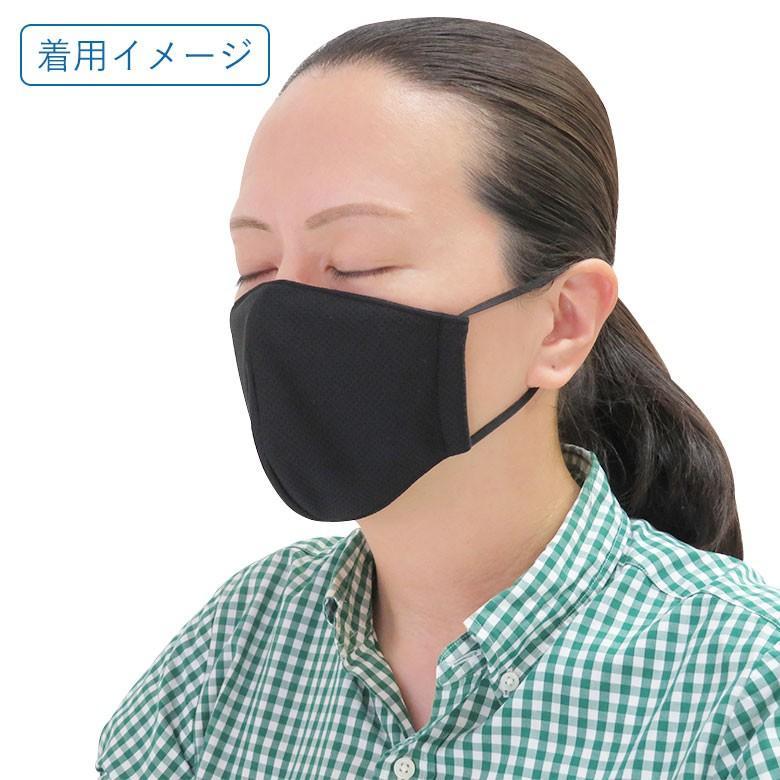 日本製 冷感が続く布マスク 涼しい 濡らすひんやり 濡らして 夏用 夏対策 冷感 布 マスク 接触冷感 水に濡らす 洗える 在庫あり 夏マスク 熱中症 おしゃれ 大人|naitre|06