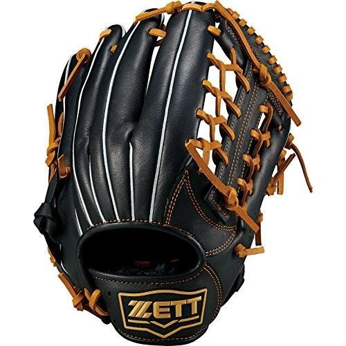 ZETT(ゼット) 野球 軟式 グラブ(グローブ) デュアルキャッチ オールラウンド 右投用 ブラック/オークブラウン(1936) BRGB