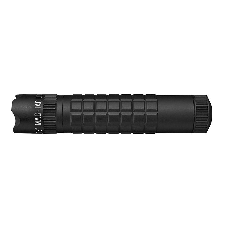 マグライト Maglite マグタック MAG-TAC CR123 2-Cell LED Flashlight クラウンベゼル Black