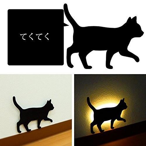 CAT CAT WALL LIGHT キャット ウォールライト TL-CWL《3個セット》 (てくてく(02)×3)