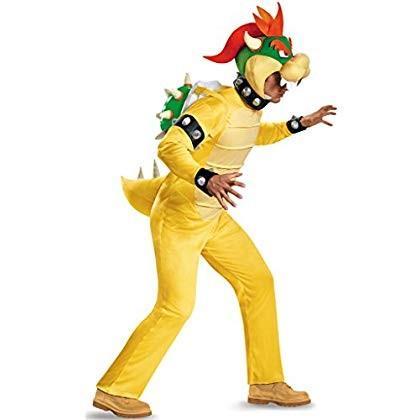 スーパーマリオ コスプレ コスチューム 衣装 クッパ 大人 男性用 XL(42-46)サイズ 並行輸入品