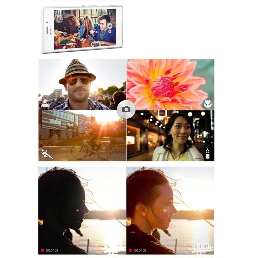 【新品 未使用】SONY Xperia M2 D2303 本体 スマホ テザリング 【ソニー】【スマホ】【海外携帯】【白ロム】【SIMフリー】携帯電話 4G LTE 当社90日保証 nakanokoubou 04