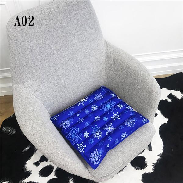クールマット 冷却座布団 ひんやりマット 冷感 接触冷感 冷たい 涼しい 涼感 冷却 冷やす 通気 タッチクール 快適 夏用品 涼感マット|nakashimasutoar|04