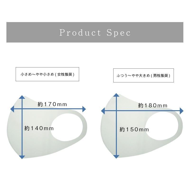日本製 マスク 紫外線 インナーマスク 二重マスク 就寝 息苦しくない ベージュ ネイビー ブラック 擦れにくい 大きい 中山式 立体ストレッチマスク(2枚組)|nakayama-shiki|08