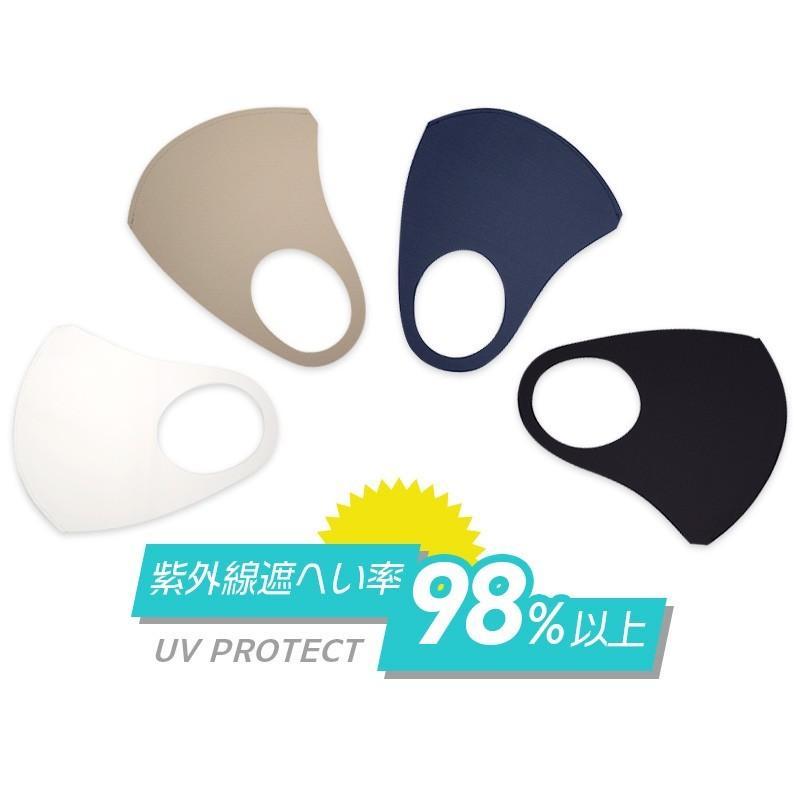 日本製 マスク 紫外線 インナーマスク 二重マスク 就寝 息苦しくない ベージュ ネイビー ブラック 擦れにくい 大きい 中山式 立体ストレッチマスク(2枚組)|nakayama-shiki|09