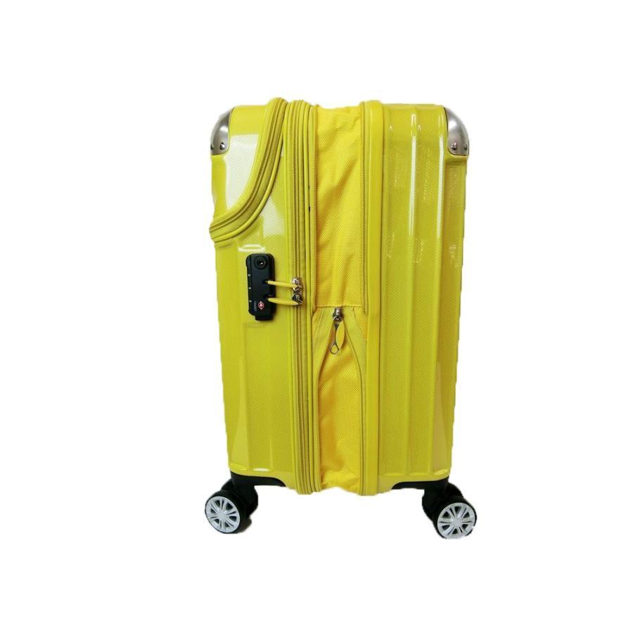 トップオープン ジッパーハードキャリー拡張型S48cm機内持込可3・4kg35〜43リットル20290 Expandable TRAVELIST TSA中国製トラベリスト nakayamakaban 14