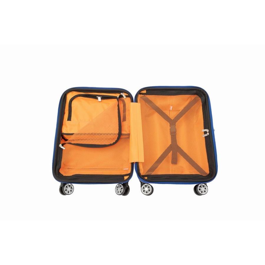 トップオープン ジッパーハードキャリー拡張型S48cm機内持込可3・4kg35〜43リットル20290 Expandable TRAVELIST TSA中国製トラベリスト nakayamakaban 18
