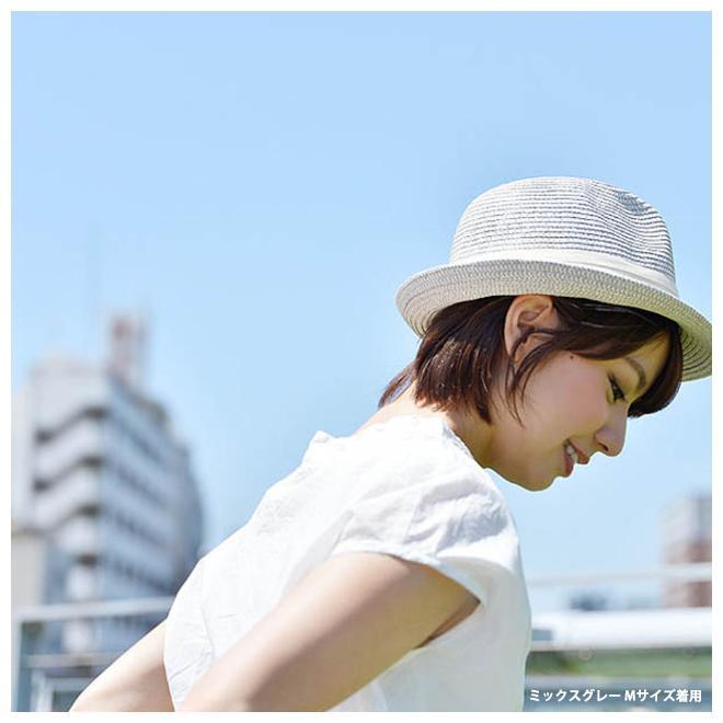 nakota ナコタ ペーパーハット 帽子 メンズ レディース 中折れ ストローハット UVカット 大きいサイズ XL キッズ 春 夏|nakota|13