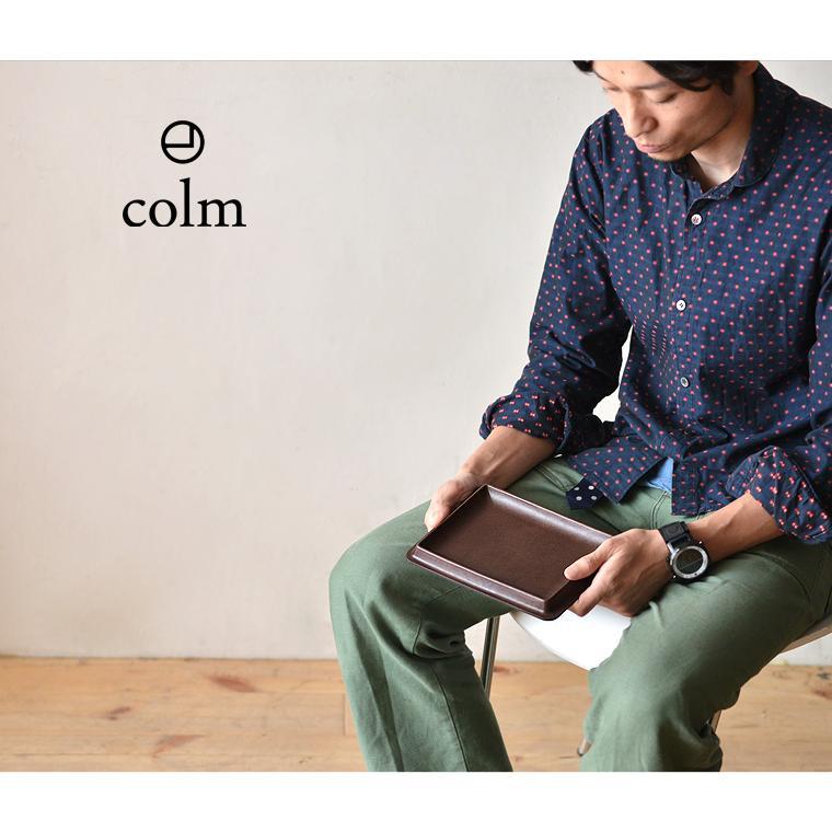 colm (コルム) レザートレイ Lサイズ 小物入れ キャッシュトレイ オーバーナイター 本革 日本製 ギフト 新築祝い 開店祝い|nakota|07