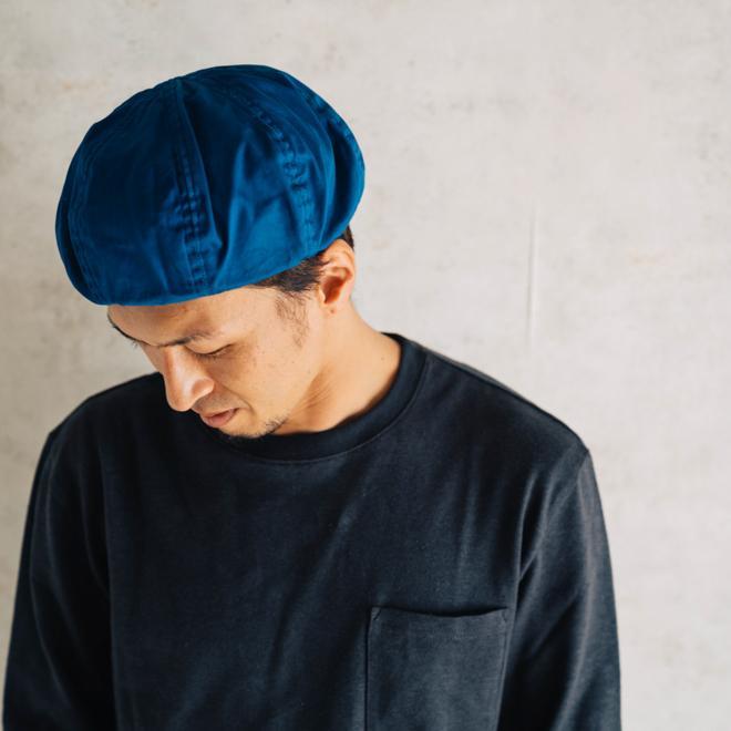 DECHO デコー VENTILE BERET ベンタイルベレー帽 帽子 8パネル メンズ レディース カジュアル 無地 コットン 軽量 日本製 nakota 11