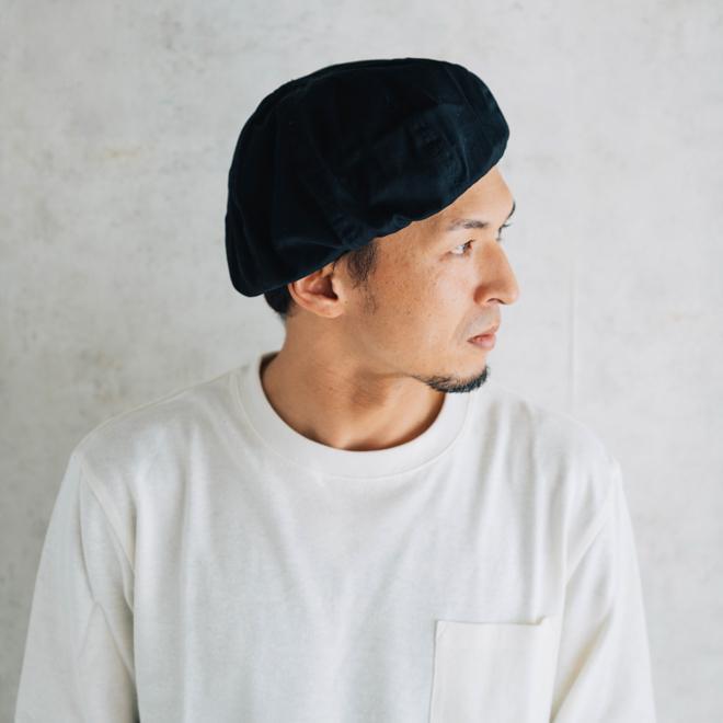 DECHO デコー VENTILE BERET ベンタイルベレー帽 帽子 8パネル メンズ レディース カジュアル 無地 コットン 軽量 日本製 nakota 12