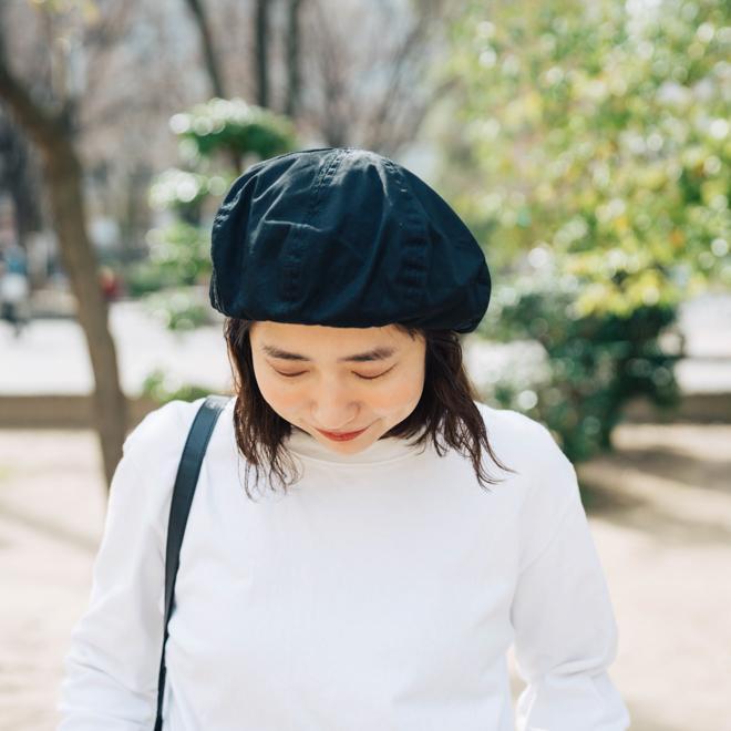 DECHO デコー VENTILE BERET ベンタイルベレー帽 帽子 8パネル メンズ レディース カジュアル 無地 コットン 軽量 日本製 nakota 13