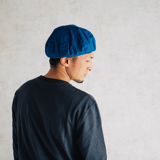 DECHO デコー VENTILE BERET ベンタイルベレー帽 帽子 8パネル メンズ レディース カジュアル 無地 コットン 軽量 日本製 nakota 14