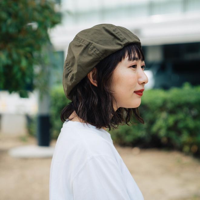 DECHO デコー VENTILE BERET ベンタイルベレー帽 帽子 8パネル メンズ レディース カジュアル 無地 コットン 軽量 日本製 nakota 04