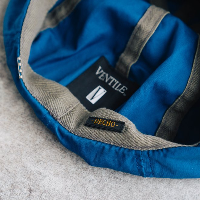 DECHO デコー VENTILE BERET ベンタイルベレー帽 帽子 8パネル メンズ レディース カジュアル 無地 コットン 軽量 日本製 nakota 06