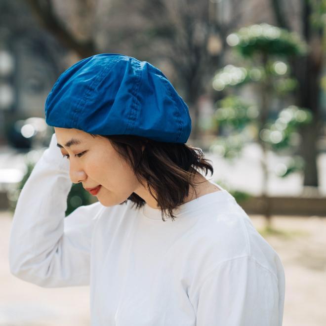 DECHO デコー VENTILE BERET ベンタイルベレー帽 帽子 8パネル メンズ レディース カジュアル 無地 コットン 軽量 日本製 nakota 08