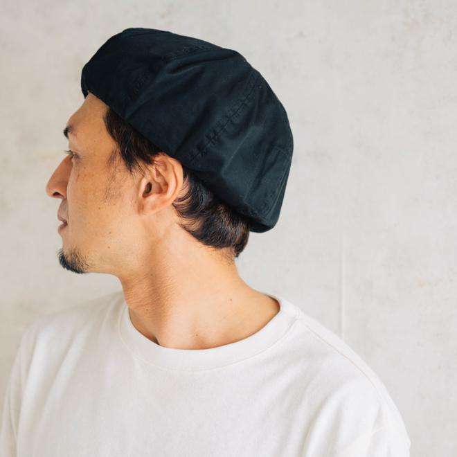 DECHO デコー VENTILE BERET ベンタイルベレー帽 帽子 8パネル メンズ レディース カジュアル 無地 コットン 軽量 日本製 nakota 10