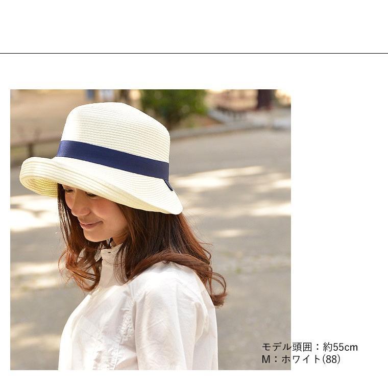 洗濯機で洗える バイザーハット 帽子 ハット レディース 折りたたみ可能 UVカット ハット サンバイザー|nakota|02