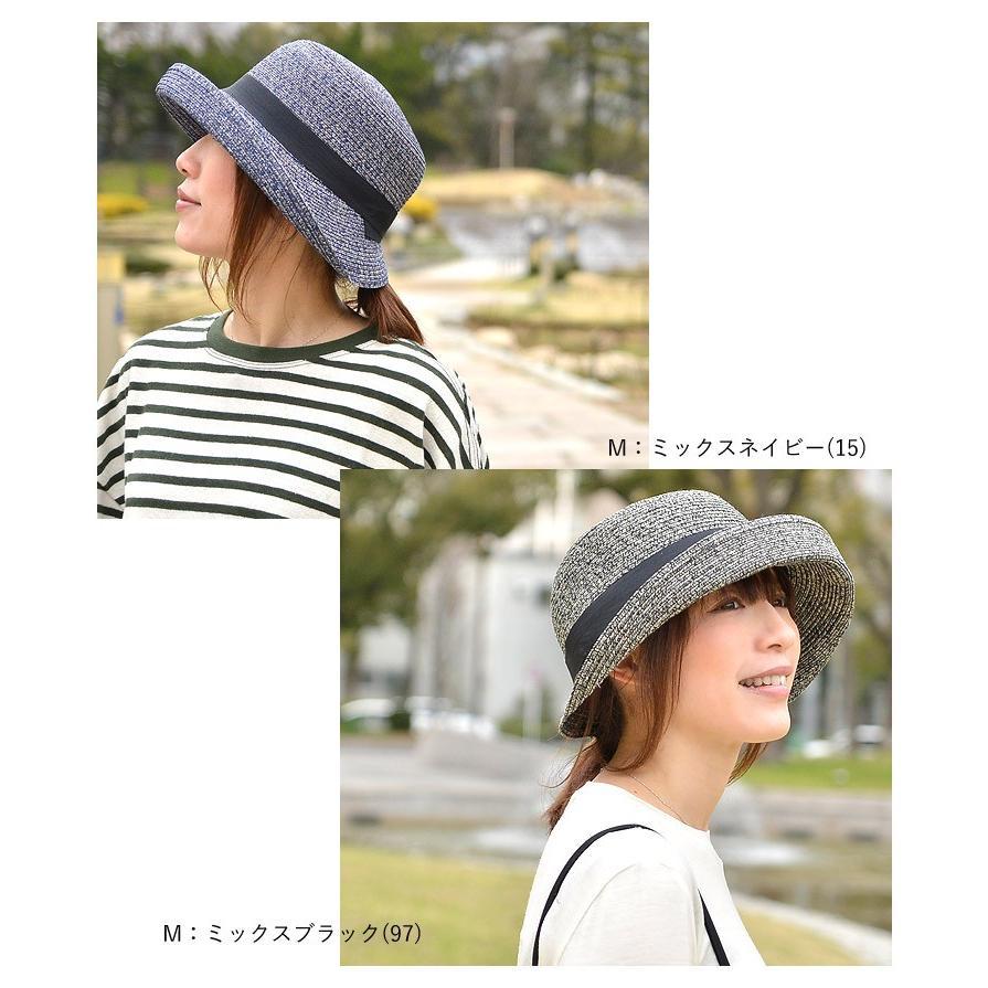 洗濯機で洗える バイザーハット 帽子 ハット レディース 折りたたみ可能 UVカット ハット サンバイザー|nakota|05