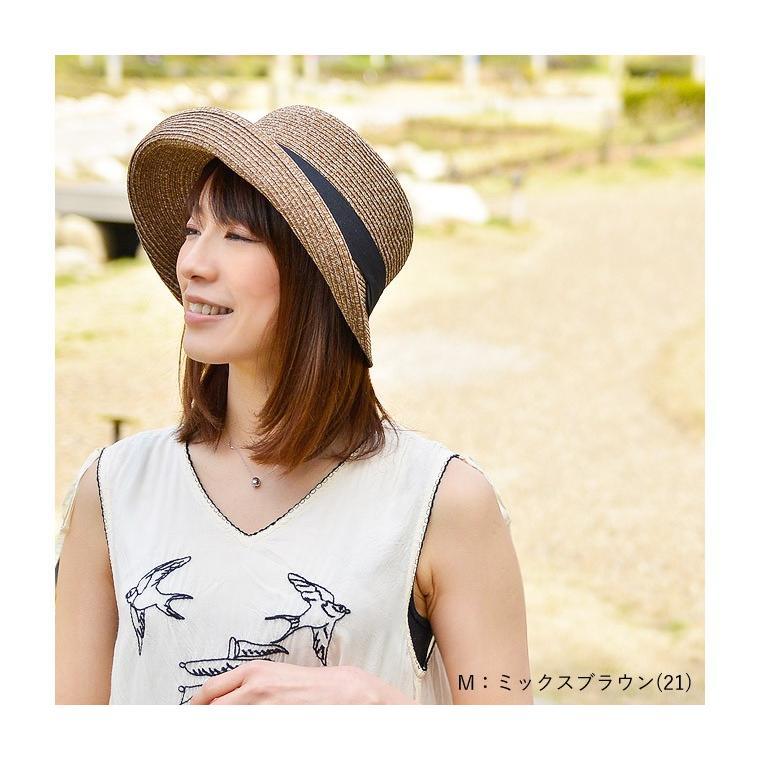 洗濯機で洗える バイザーハット 帽子 ハット レディース 折りたたみ可能 UVカット ハット サンバイザー|nakota|06