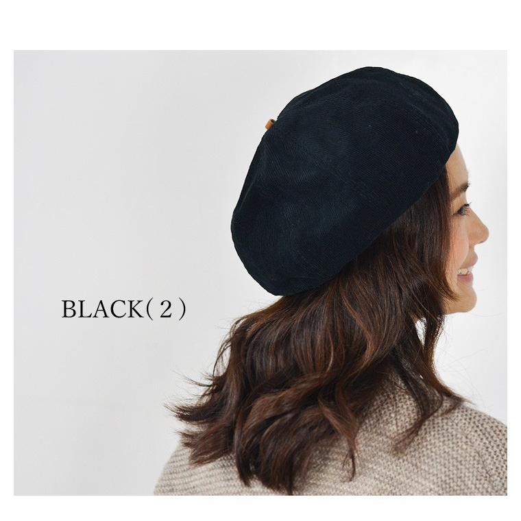 HIGHER ( ハイヤー ) コーデュロイ ベレー帽 帽子 レディース メンズ nakota 03