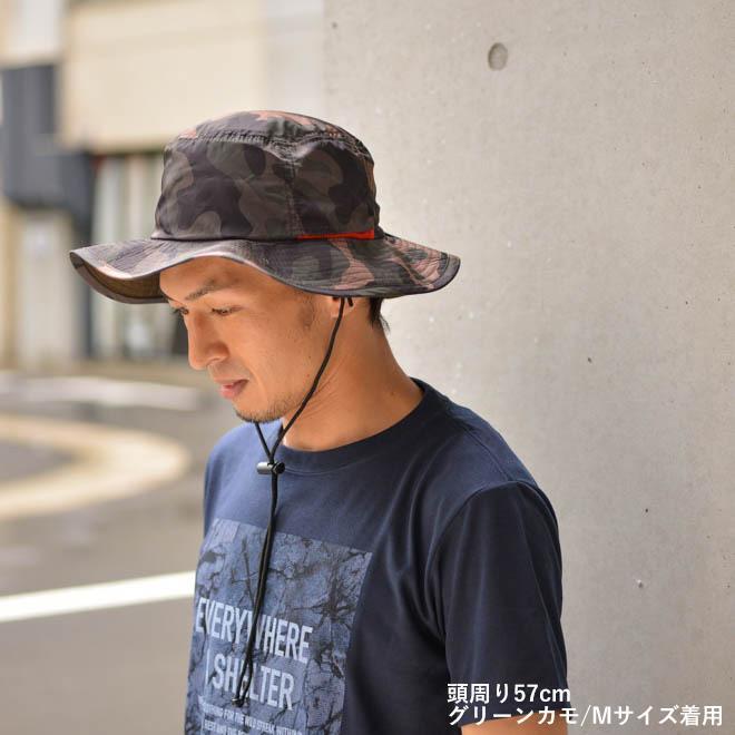 撥水 サファリハット アドベンチャーハット レインハット uv 帽子 大きいサイズ メンズ レディース 紫外線 アウトドア カジュアル 登山 キャンプ 春 夏|nakota|13