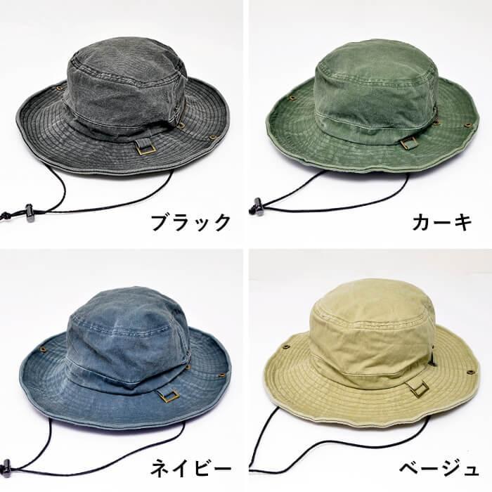 nakota ナコタ ウォッシュサファリハット アドベンチャーハット 帽子 バケットハット メンズ レディース ツバ広 UV 登山 フェス|nakota|07