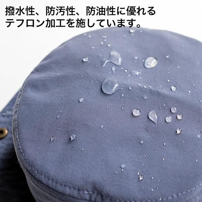 RUBEN ルーベン 撥水 テフロン アドベンチャーハット 帽子 メンズ レディース 防水 顎紐 カラフル シンプル アウトドア サファリハット テンガロンハット nakota 05
