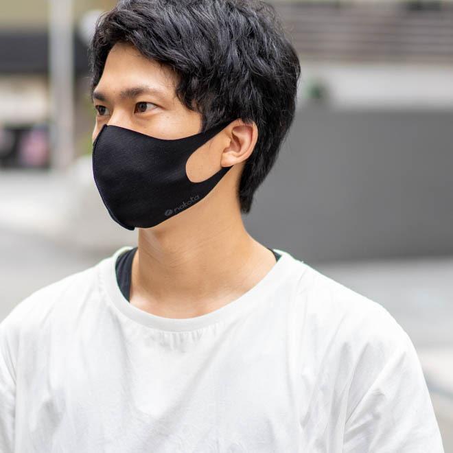 nakota ナコタ 冷感マスク 3枚セット 日本製 ストレッチマスク 洗える 大きいサイズ nakota 09