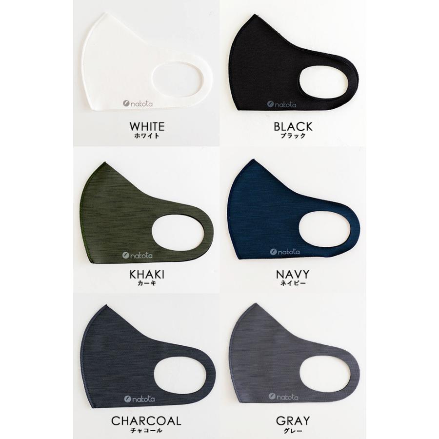 マスク 抗菌 洗える nakota ナコタ 抗菌マスク 3枚セット 在庫あり 日本製 予防体 男女兼用 無地|nakota|16