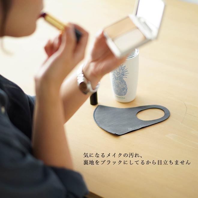マスク 抗菌 洗える nakota ナコタ 抗菌マスク 3枚セット 在庫あり 日本製 予防体 男女兼用 無地|nakota|04