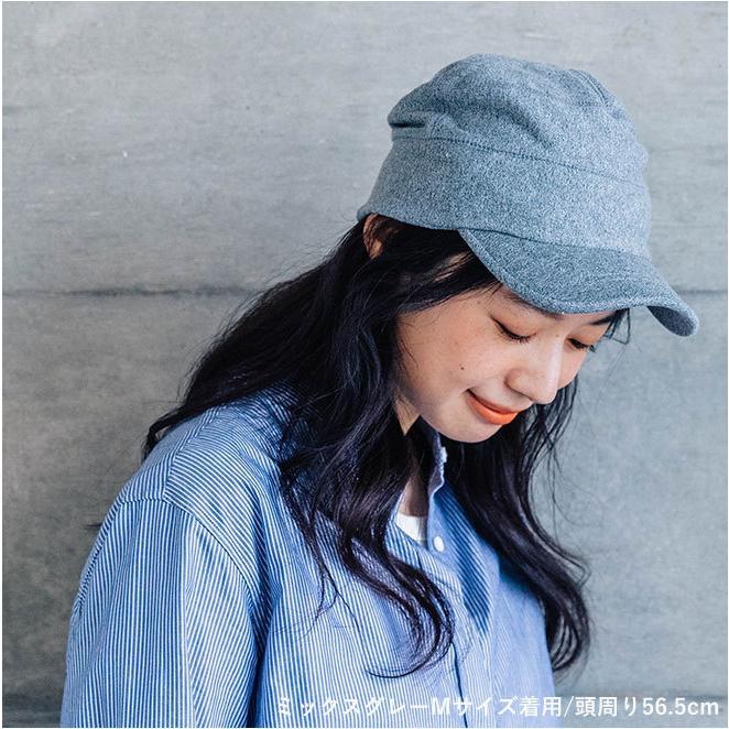 nakota ナコタ スウェットワークキャップ 帽子 キャップ メンズ レディース ワークキャップ 春 冬 大きいサイズ ビッグ|nakota|02