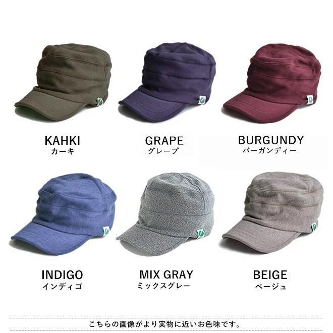 nakota ナコタ スウェットワークキャップ 帽子 キャップ メンズ レディース ワークキャップ 春 冬 大きいサイズ ビッグ|nakota|19