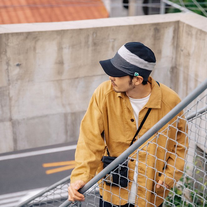 nakota ナコタ スウェットワークキャップ 帽子 キャップ メンズ レディース ワークキャップ 春 冬 大きいサイズ ビッグ|nakota|03