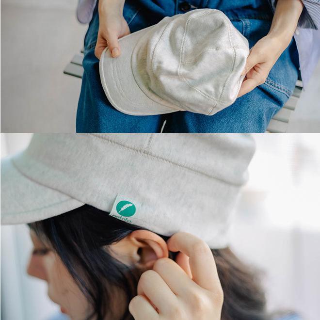 nakota ナコタ スウェットワークキャップ 帽子 キャップ メンズ レディース ワークキャップ 春 冬 大きいサイズ ビッグ|nakota|05