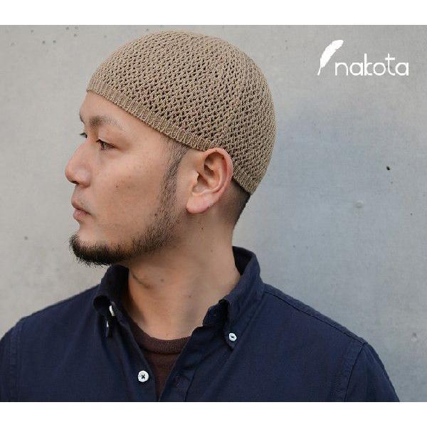 nakota ナコタ シームレスコットンイスラム帽 イスラムワッチ 日本製 帽子 ビーニー|nakota|04