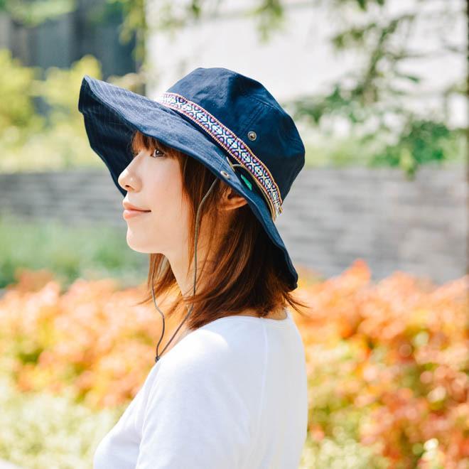 帽子 メンズ レディース Nakota (ナコタ) アクティビティ アウトドア ハット カジュアル ハット サファリハット ドローコード付き UVカット チロリアンテープ|nakota|12