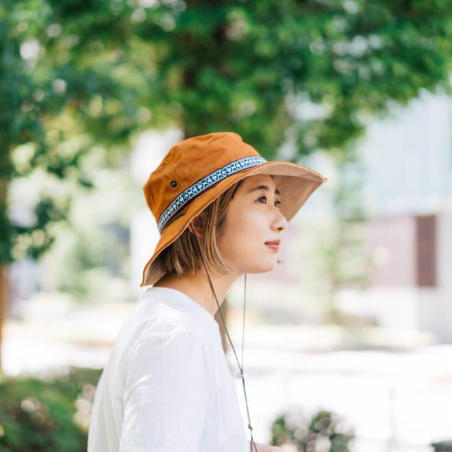 帽子 メンズ レディース Nakota (ナコタ) アクティビティ アウトドア ハット カジュアル ハット サファリハット ドローコード付き UVカット チロリアンテープ|nakota|13