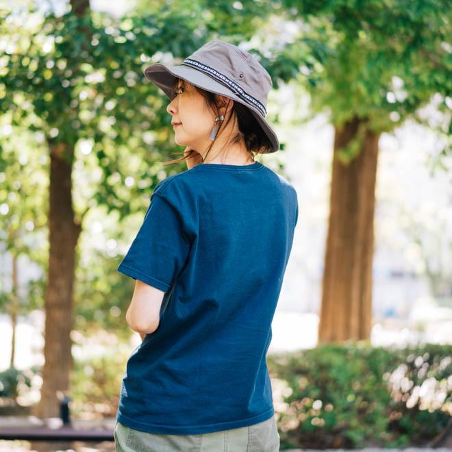 帽子 メンズ レディース Nakota (ナコタ) アクティビティ アウトドア ハット カジュアル ハット サファリハット ドローコード付き UVカット チロリアンテープ|nakota|15